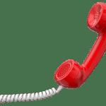 Bild telefonhöhrer